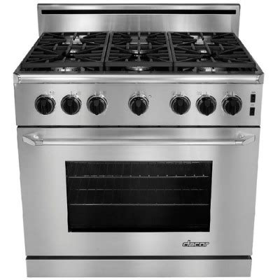 Dacor 36 Inch Gas Cooktop - dacor 36 inch 6 burner slide in gas range gift ideas