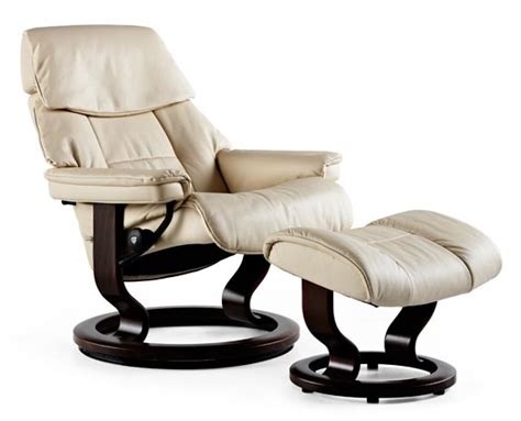 Buy Stressless Recliner by Ekornes Stressless Leather Recliner Ruby Classic Chair