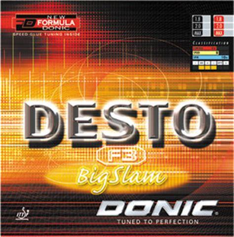 Donic Desto F3 Big Slam 1 alternative for joola defensive and joola