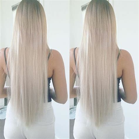 platinum blonde weave platinum blonde clip in hair extensions triple wefted