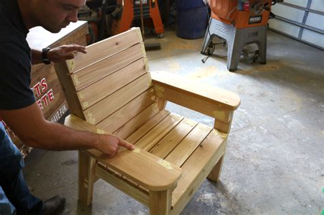 wood patio chair plans diy patio chair plans and tutorial step by step