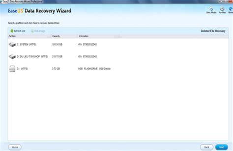 Easeus Data Recovery Wizard Pro ? Khôi ph?c d? li?u b? xóa trên máy tính
