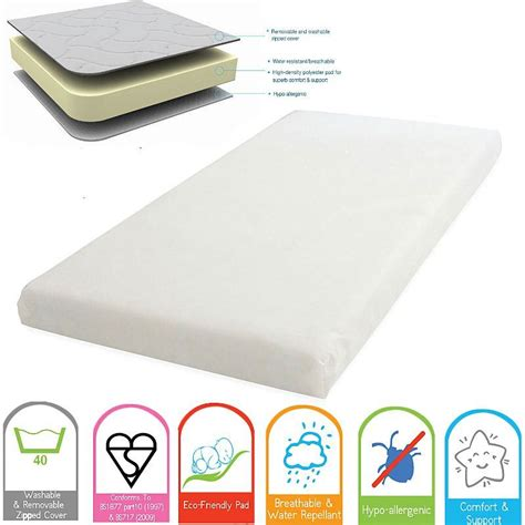 Mattress 100 X 70 by New Kinder Valley Cot Mattress Size 100 X 50 120 X 60