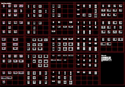 window templates for autocad cad drawing windows steel windows various types schedule