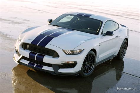 Ford Mustang Shelby 350 by Ford Retorno Do Mustang Shelby Gt 350 Novas Fotos