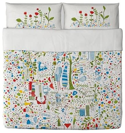 Scandinavian Bedding by Eivor Leva Duvet Cover And Pillowcase S Scandinavian