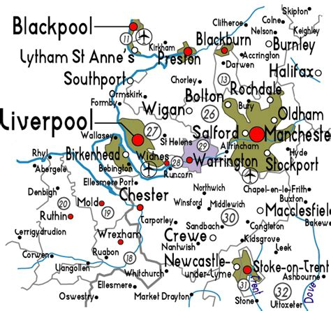 map of warrington map of warrington in useful information about