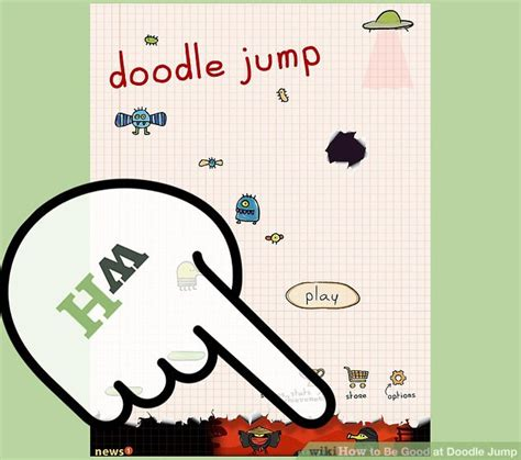 how to do well in doodle jump how to be at doodle jump 7 steps with pictures