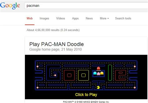 doodle do pacman 11 things you probably didn t could do