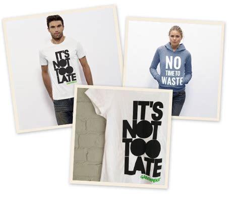 Greenpeace 10 T Shirt greenpeace lanceert t shirtcollectie be
