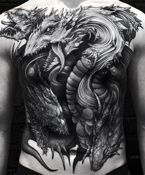 hydra tattoo designs blackwork hydra by wpkorvis tattoos for guys