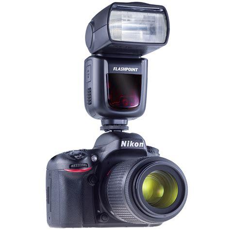 flash camara canon new flashpoint zoom li on on camera flash for nikon and