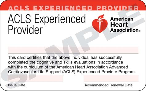 american association healthcare provider card template cpr acls pals bundle healthwise education