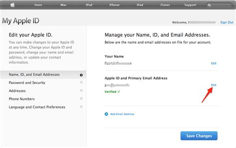 apple email iphone how can i change a defunct apple id email address