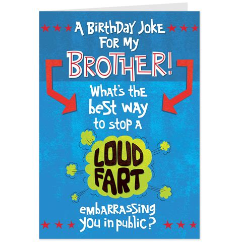 Birthday Cards For Brothers Funny Birthday Cards For Brother Printable