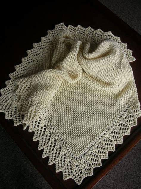 easy lace baby blanket knitting pattern 1403 best crochet blankets images on crochet