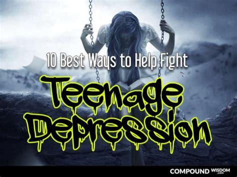10 Ways To Fight Depression by 10 Best Ways To Help Fight Depression