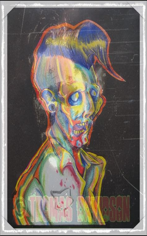 tattoo flash art zombie psycho zombie tattoo flash by morgueman138 on deviantart
