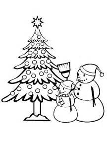ภาพระบายส ต นคร สต มาส christmas tree little