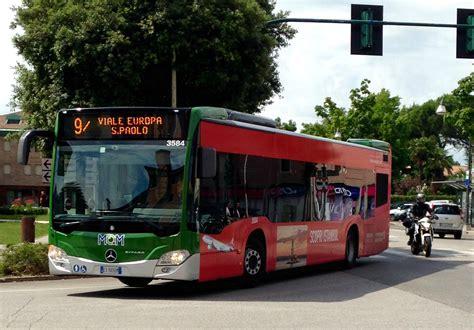 file mobilit 224 di marca treviso autobus pellicolato