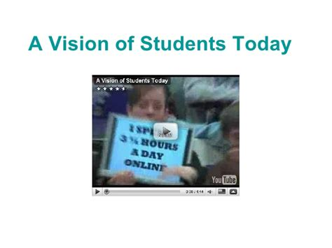 a vision of students today youtube social media for the social sciences