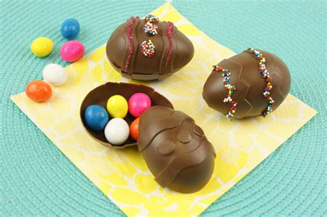 Handmade Chocolate Easter Eggs - craftionary