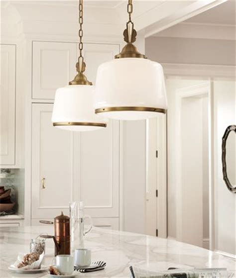 brass schoolhouse pendants lighting