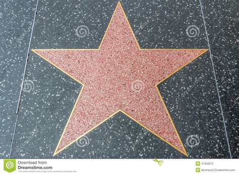 free printable hollywood star hollywood walk of fame blank star editorial photography