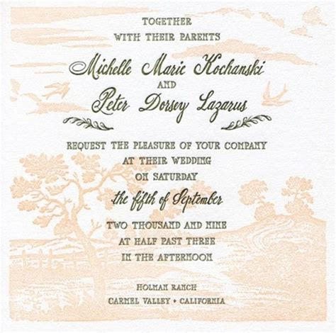 wedding card templates for friends what are some wedding invitation card wordings to give it