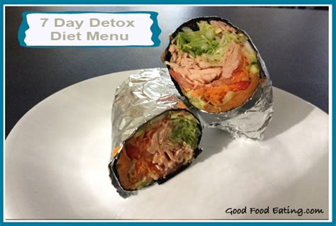 Tuna Ish Given For Autistic Detox by 7 Day Detox Diet Menu Day 2