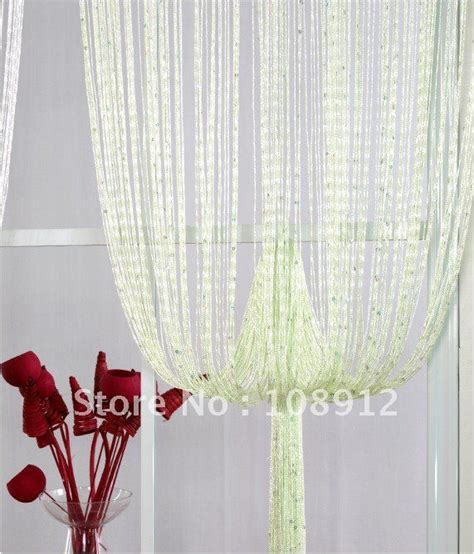 cheap string curtains ready made curtains string curtain accent color light
