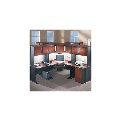 bush office furniture series a bush business furniture a series cubicle office set in hansen cherry bsa005 944