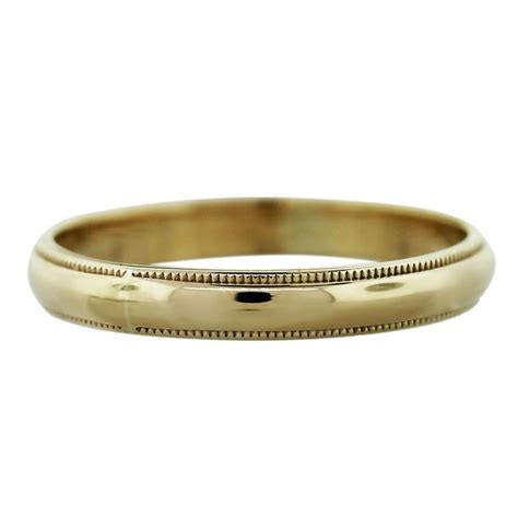 14k Yellow Gold Wedding Band by 14k Yellow Gold 1 6dwt Mens Wedding Band Ring Boca Raton