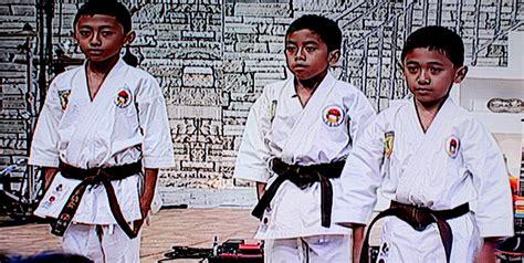Baju Karate Anak m zidane bagaskara karate cilik mengharumkan nama bangsa geongrus