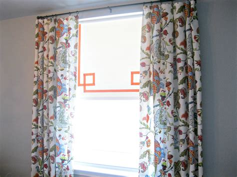 roller curtains tutorial how to add ribbon to roller shades what the vita