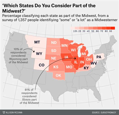 map of midwest states in usa 12 ways to map the midwest