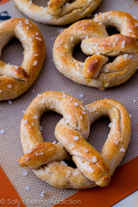Handmade Pretzels - sincerely paula a healthy s day
