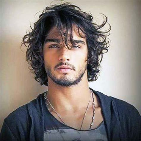 mens hippie hairstyles the best men s wavy hairstyles ideas of this century