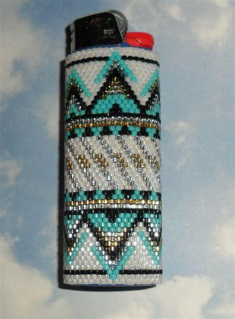 beaded lighter items similar to sante fe beaded lighter on etsy