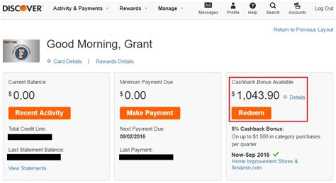 Redeem Gift Cards For Cash Online - redeem discover it cash back for gift cards egift cards online in app