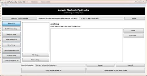 android tutorial zip guida creare zip flashabili da recovery con android