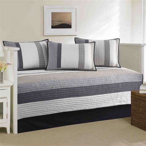 nautica tideway 5 piece quilted daybed cover set 16977737 overstock com shopping the best