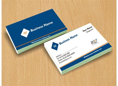 Two Sided Business Card Template by Print Two Sided Business Cards In Nigeria Printmagic