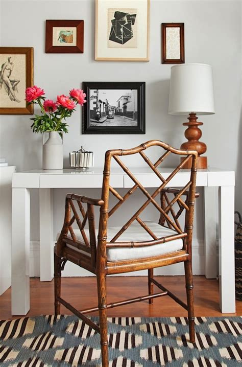 lauren nelson design chippendale chair contemporary den library office