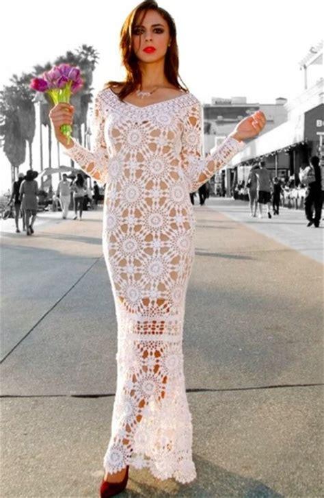 Beach wedding crochet dress PATTERN, designer crochet dress pattern.   favoritepatterns.com