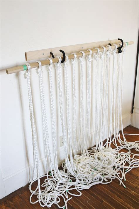 How Do You Do Macrame - make your own macrame curtain do it yourself ideas and