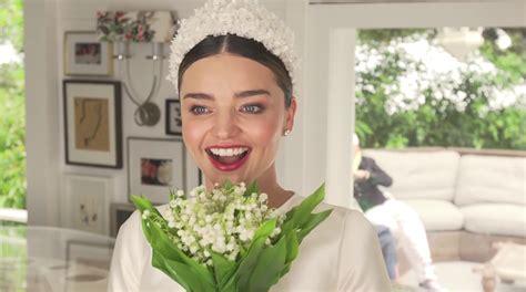 Kerr Dress photos miranda kerr s wedding dress when she married evan