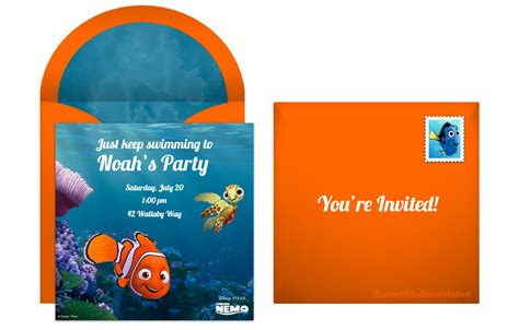 plan totally righteous finding nemo birthday party