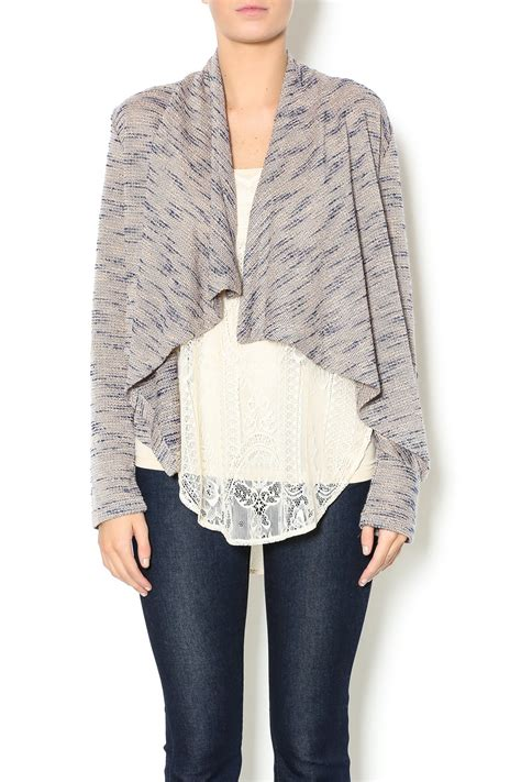 draped cardigans jack by bb dakota draped cardigan from ohio by lou lou s
