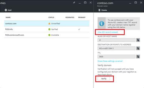 add  custom domain  azure ad microsoft docs
